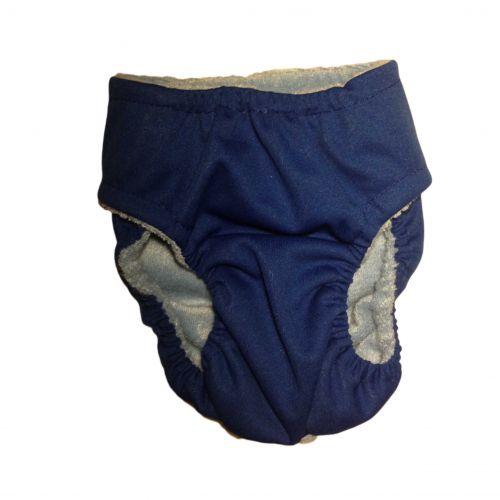 dark blue pul diaper - back