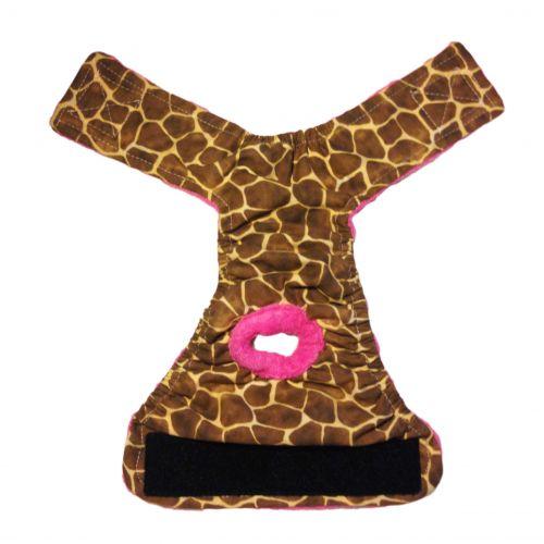 giraffe diaper - full