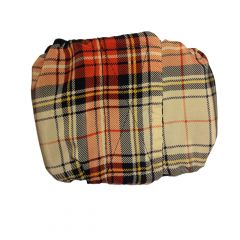 London Plaid Washable Dog Belly Band Male Wrap