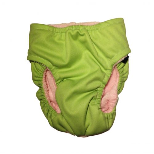 teal pul diaper - back