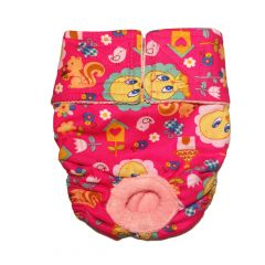 Tweety Bird on Pink Washable Dog Diaper