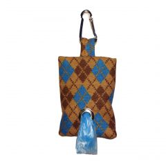 Argyle Dog Poop Bag Dispenser