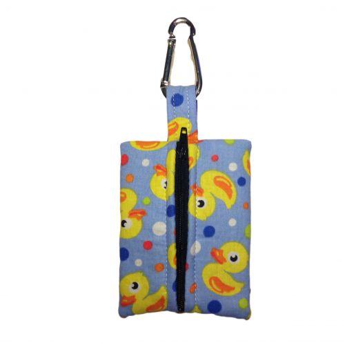 duckie poop bag dispenser - back