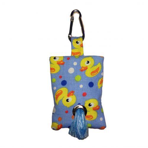 duckie poop bag dispenser - front