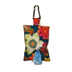 Four Seasons Flower Dog Poop Bag Dispenser