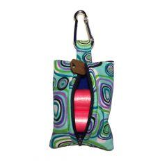 Swirly Square Dog Poop Bag Dispenser