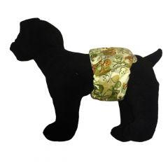 Camo Skulls Washable Dog Belly Band Male Wrap