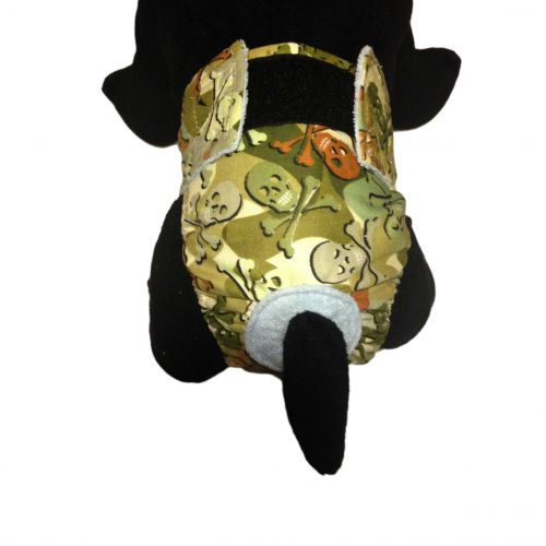 camo skulls diaper – model 2