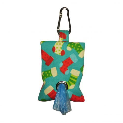 christmas stocking poop bag dispenser