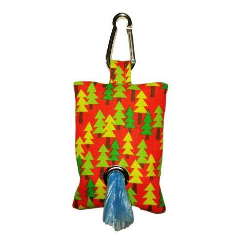 christmas tree poop bag dispenser