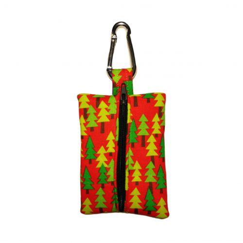 christmas tree poop bag dispenser - back