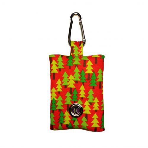 christmas tree poop bag dispenser - front