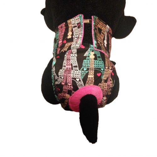 paris eiffel tower diaper - model 2
