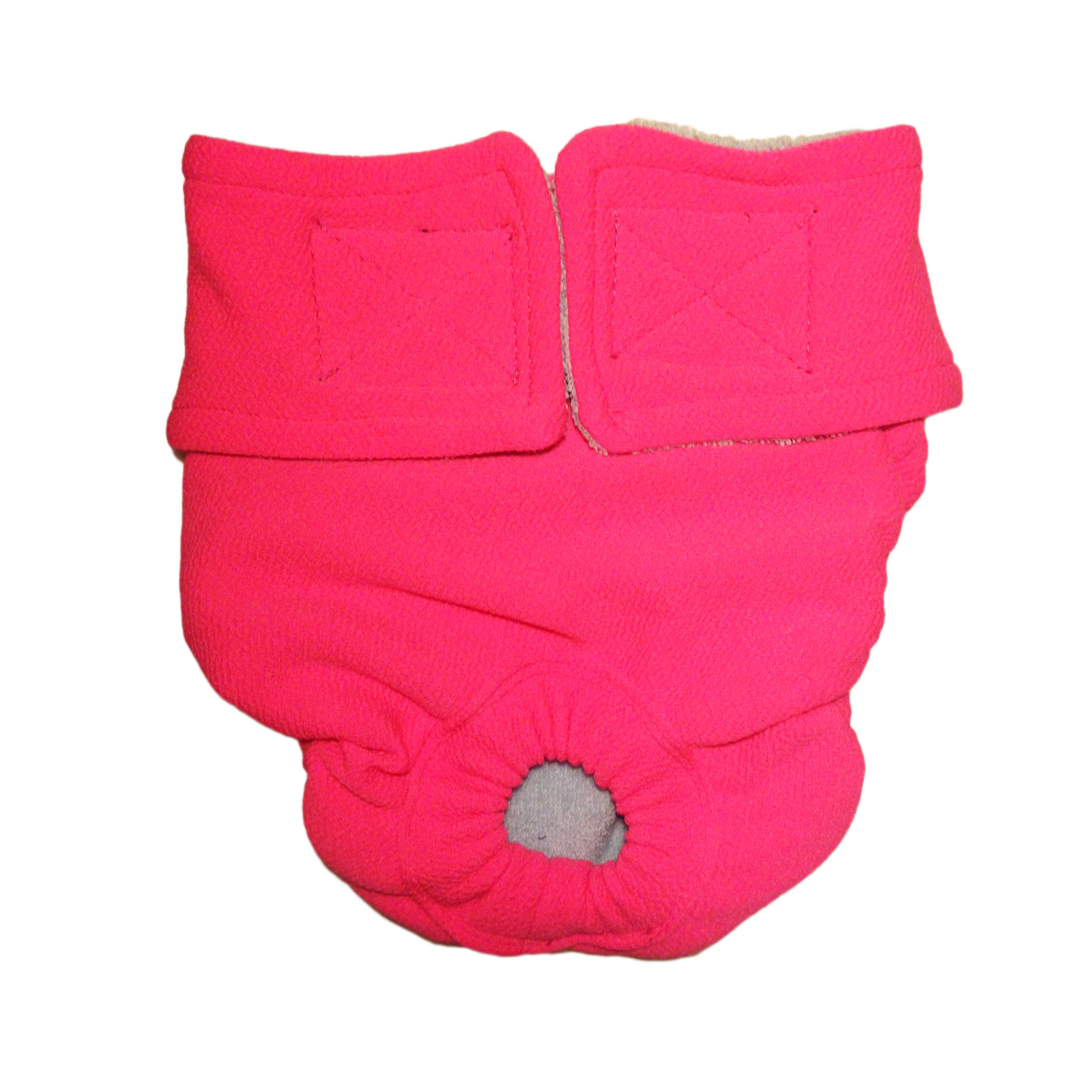 Barkertime Pink Washable Cat Diaper Made In Usa