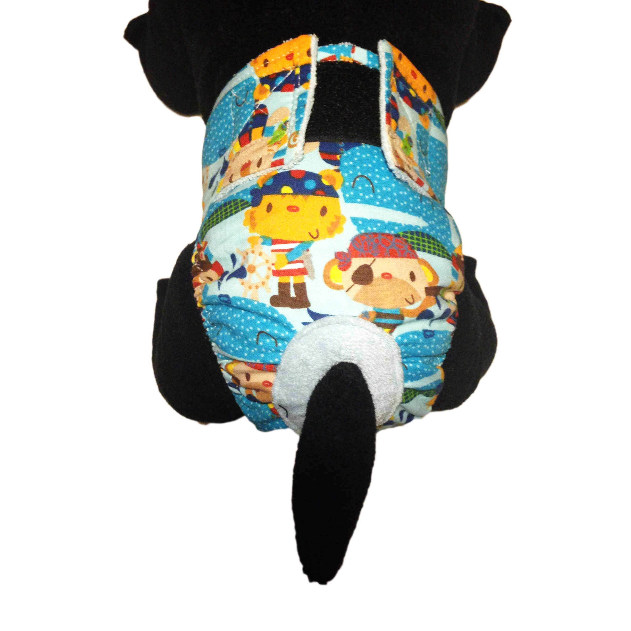 barkertime pirates adventure washable cat diaper made in usa. Black Bedroom Furniture Sets. Home Design Ideas