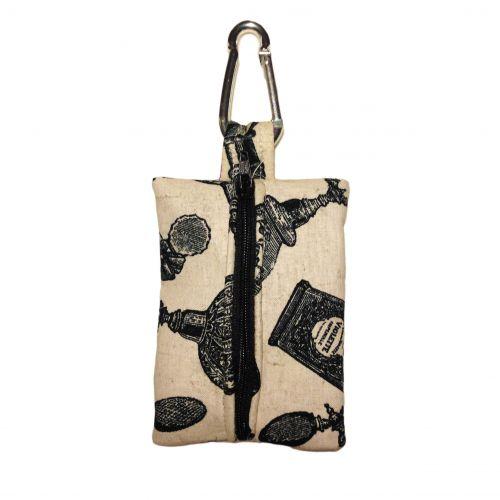 royal perfume dog poop bag dispenser - back