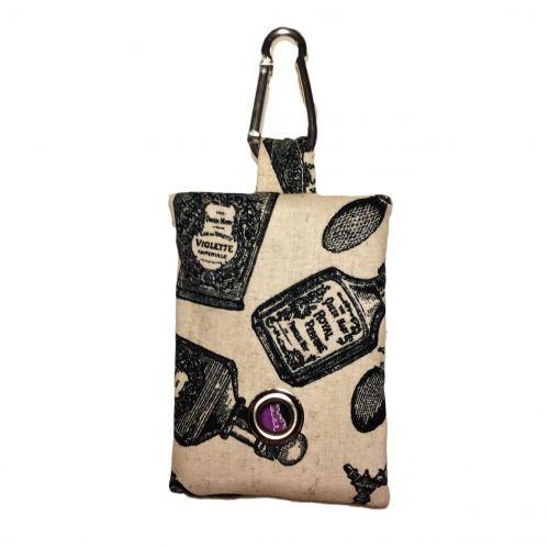 royal perfume dog poop bag dispenser - front