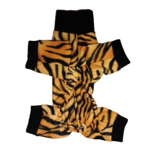 tiger dog pajama - back