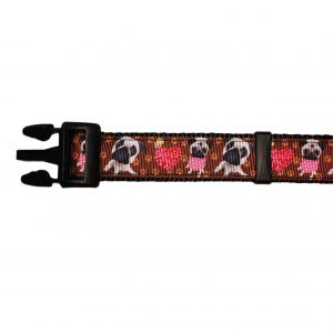 Pug Love Dog Collar
