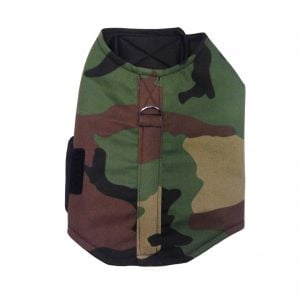 Green Camo Dog Harness Vest