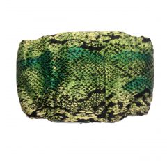 Green Snake Skin Washable Dog Belly Band Male Wrap