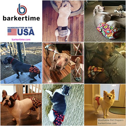 Barkertime Dog Diapers and Belly Bands