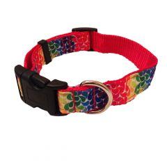 Floral Droplets Dog Collar