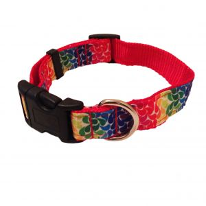 Floral Droplets Dog Collar
