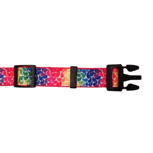 floral droplets collar - open 2