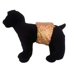 Golden Cheetah Washable Dog Belly Band Male Wrap