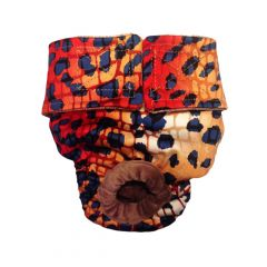 Hot Cheetah Washable Dog Diaper