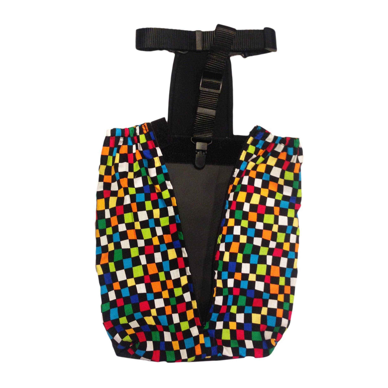 Barkertime Color Checker Dog Drag Bag Made In Usa