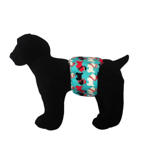 holiday doggie belly band - model 1