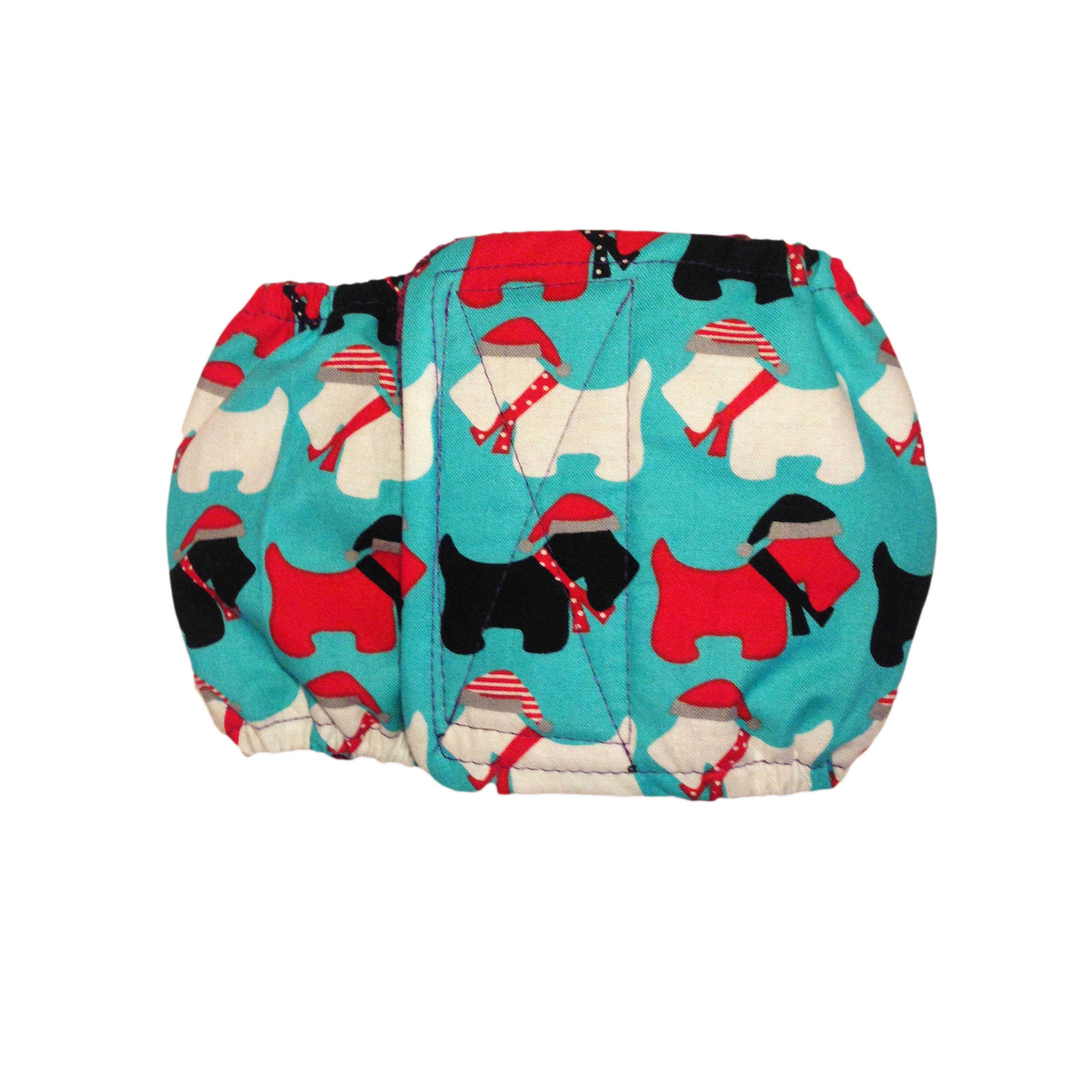 Barkertime Holiday Doggie Washable Dog Belly Band Male Wrap