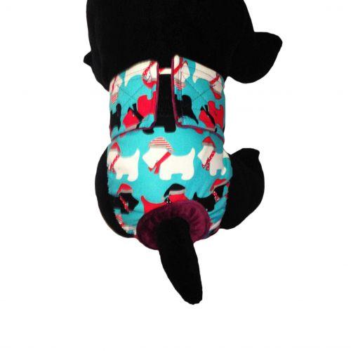 holiday doggie diaper - model 2