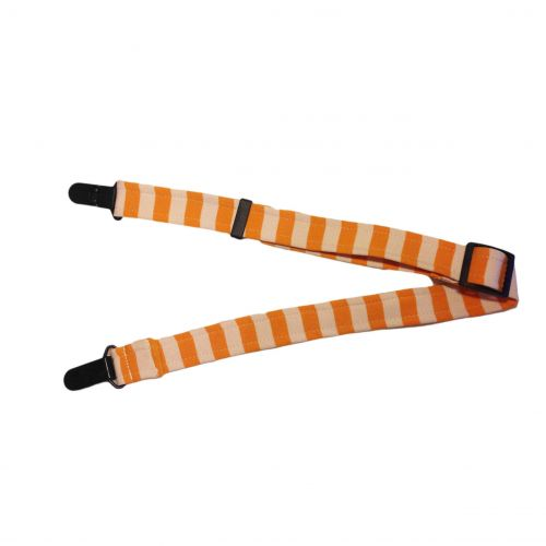lemon stripe suspender