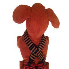 Stripes Adjustable Suspender to Keep Dog Diapers On