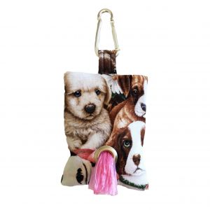 Cute Puppy Dog Poop Bag Dispenser