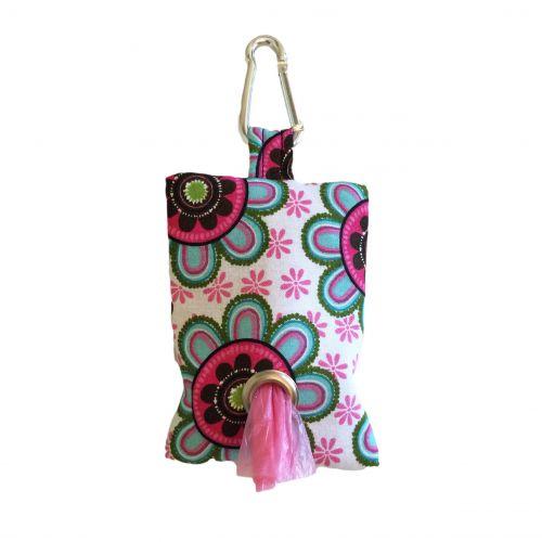 passion flower poop bag holder