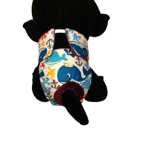 sea buddies diaper - model 2