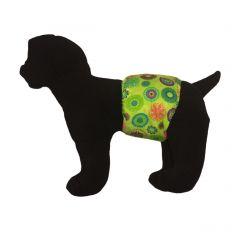 Green Kiwi Washable Dog Belly Band Male Wrap