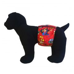 Running Dog Washable Dog Belly Band Male Wrap