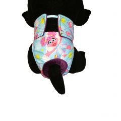 Washable Cat Diaper made from Abby Cadabby fabric