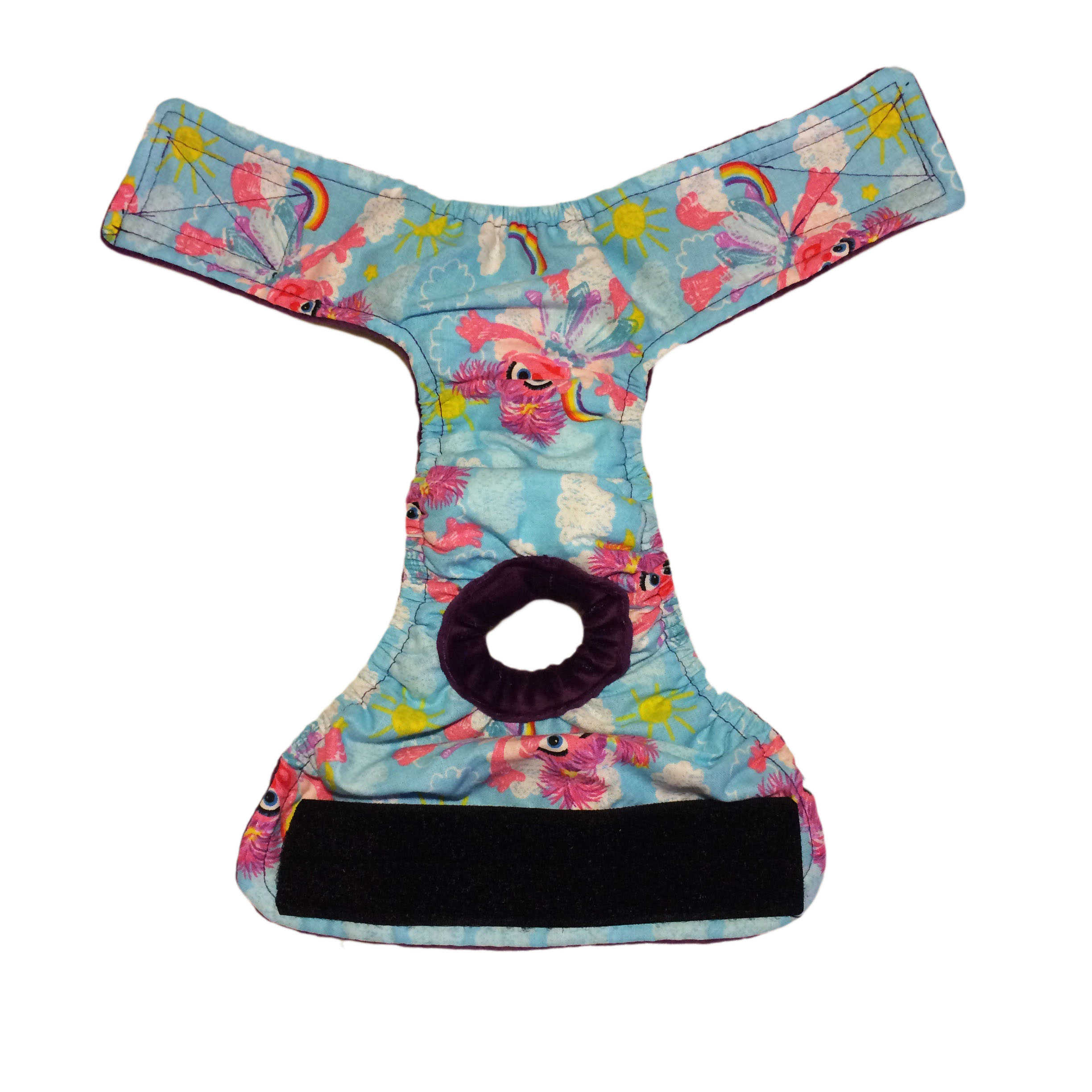 Barkertime Dog Washable Dog Diaper Made From Abby Cadabby
