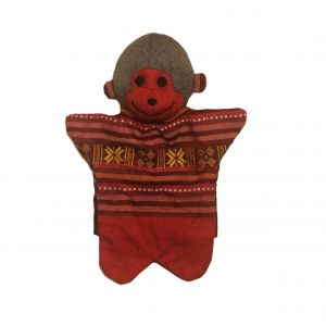 Monkey Hand Puppet – Unique Handmade Toy