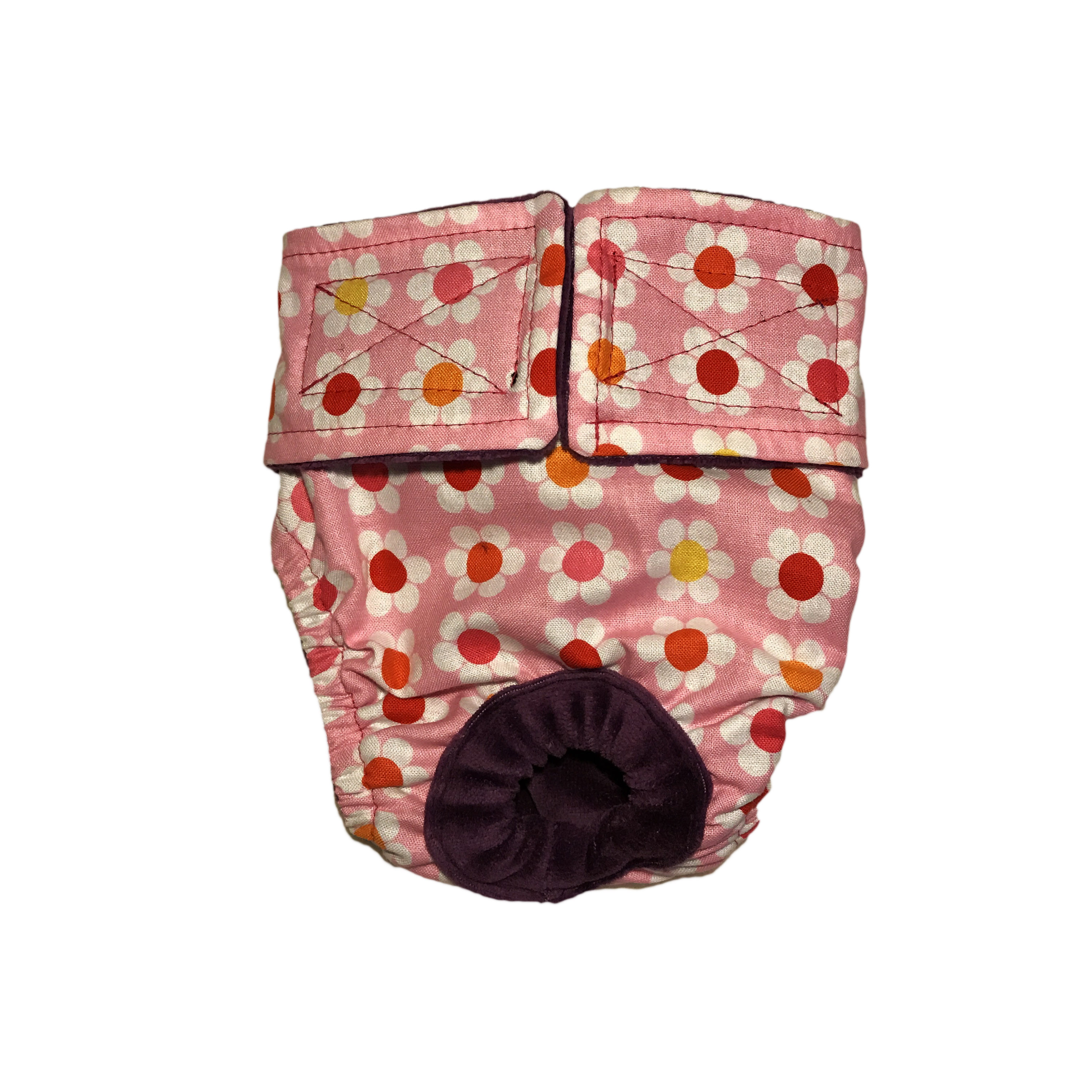 Barkertime Cherry Blossom On Pink Washable Dog Diaper