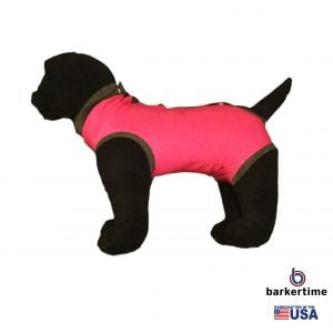 Pink PeeJama E-Collar Alternative Recovery Suit