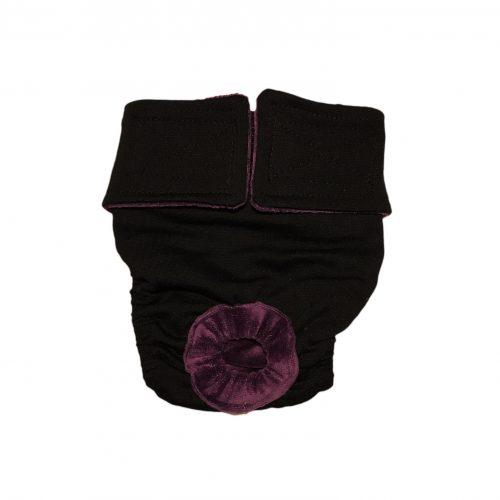 black diaper