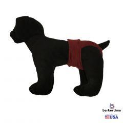 Burgundy Washable Dog Diaper