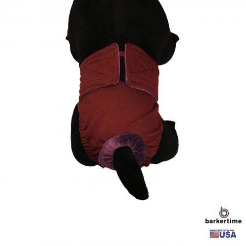 burgundy diaper – model 2